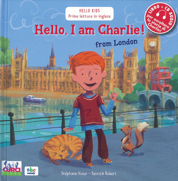 Hello, I am Charlie! from London (dai 6)
