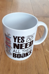 Mug Book Lovers - Yes I really need all these books
